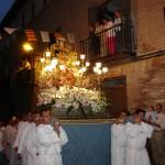 Mayo Virgen de la Peana